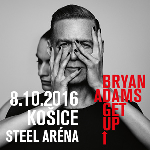 BRYAN ADAMS GET UP TOUR 10/2016