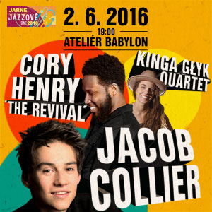 CORY HENRY THE REVIVAL A JACOB COLLIER 06/2016