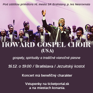 HOWARD GOSPEL CHOIR USA 12/2016