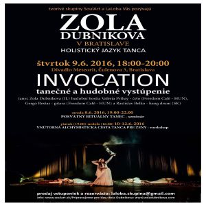 ZOLA DUBNIKOVA INVOCATION 06/2016