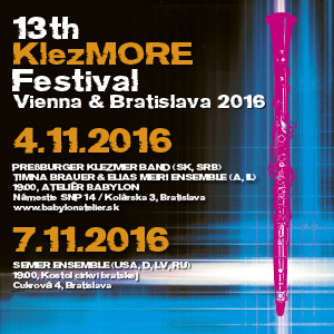13TH KLEZMORE FESTIVAL 11/2016