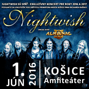 NIGHTWISH + HOSTIA 06/2016