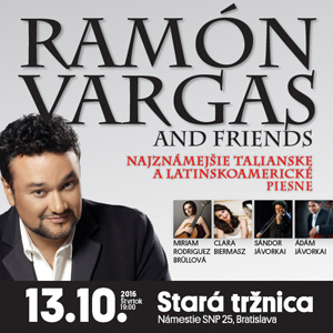 RAMÓN VARGAS AND FRIENDS 10/2016
