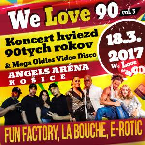 WE LOVE 90,VOL.3 03/2017