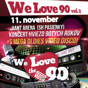 WE LOVE THE 90´S VOL. 2 11/2016