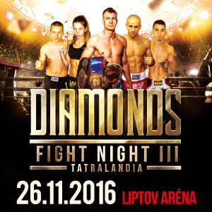 DIAMOND FIGHT NIGHT TATRALANDIA 09/2016