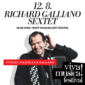 RICHARD GALLIANO SEXTET 08/2016