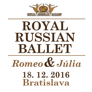 ROYAL RUSSIAN BALLET, ROMEO A JULIA 12/2016