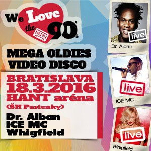 WE LOVE THE 90´S, DR. ALBAN 03/2016
