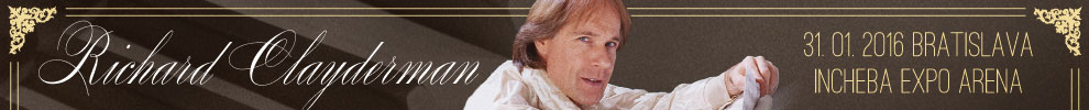 RICHARD CLAYDERMAN LIVE WITH STRINGS 01/2016