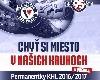 KHL - HC SLOVAN permanentka 2016/2017