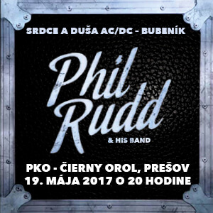 PHIL RUDD & HIS BAND 05/2017