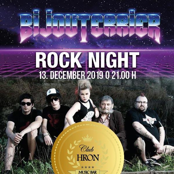 ROCK NIGHT BIJOUTERRIER
