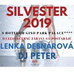 Silvestrovský galavečer v Hoteli Gino Park Palace