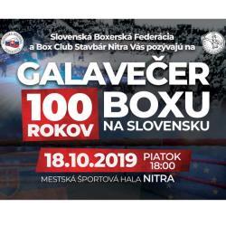Galavečer 100 rokov boxu na Slovensku