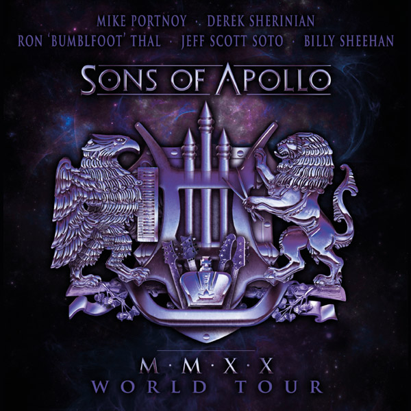 SONS OF APOLLO  (USA) - MMXX World Tour