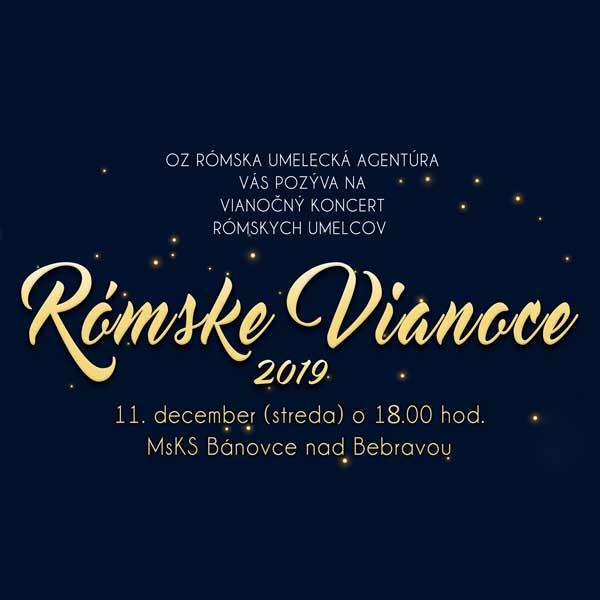 Rómske Vianoce 2019