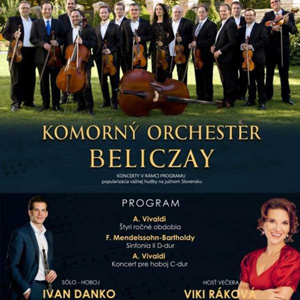 Adventný koncert komorného orchestra Beliczay