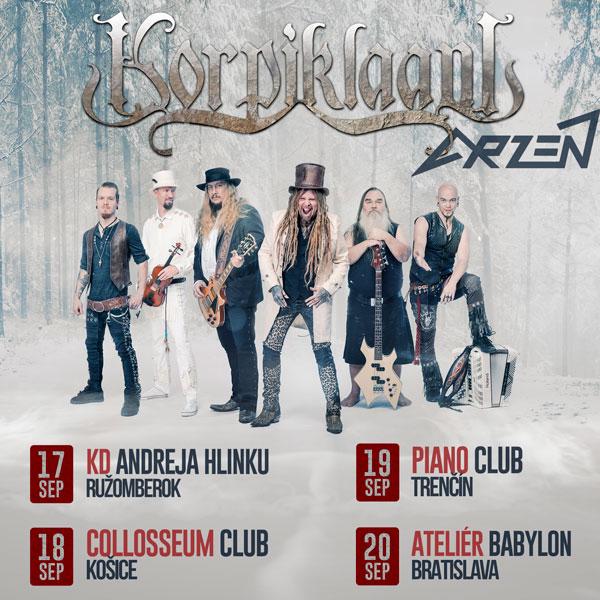 Korpiklaani & Arzén tour 2020