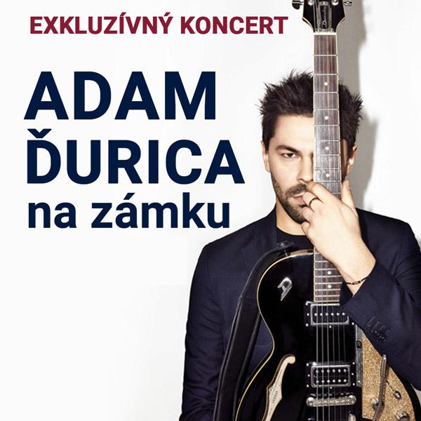 Adam Ďurica–akustický exkluzívny koncert na zámku | 27.09.2021 - pondelok Šimák Zámok Pezinok, Pezinok