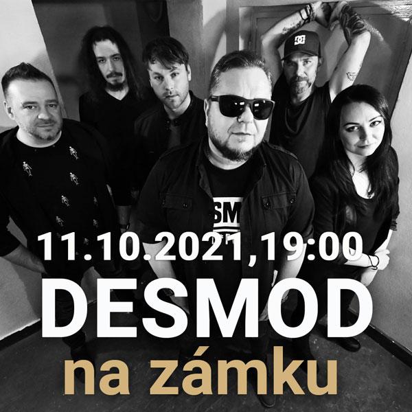 DESMOD na zámku   11.10.2021 - pondelok Šimák Zámok Pezinok, Pezinok
