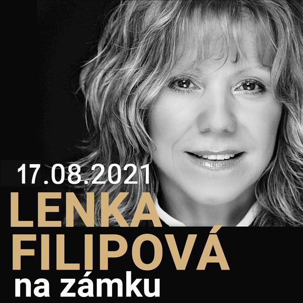 Lenka Filipová na zámku | 17.08.2021 - utorok Šimák Zámok Pezinok, Pezinok