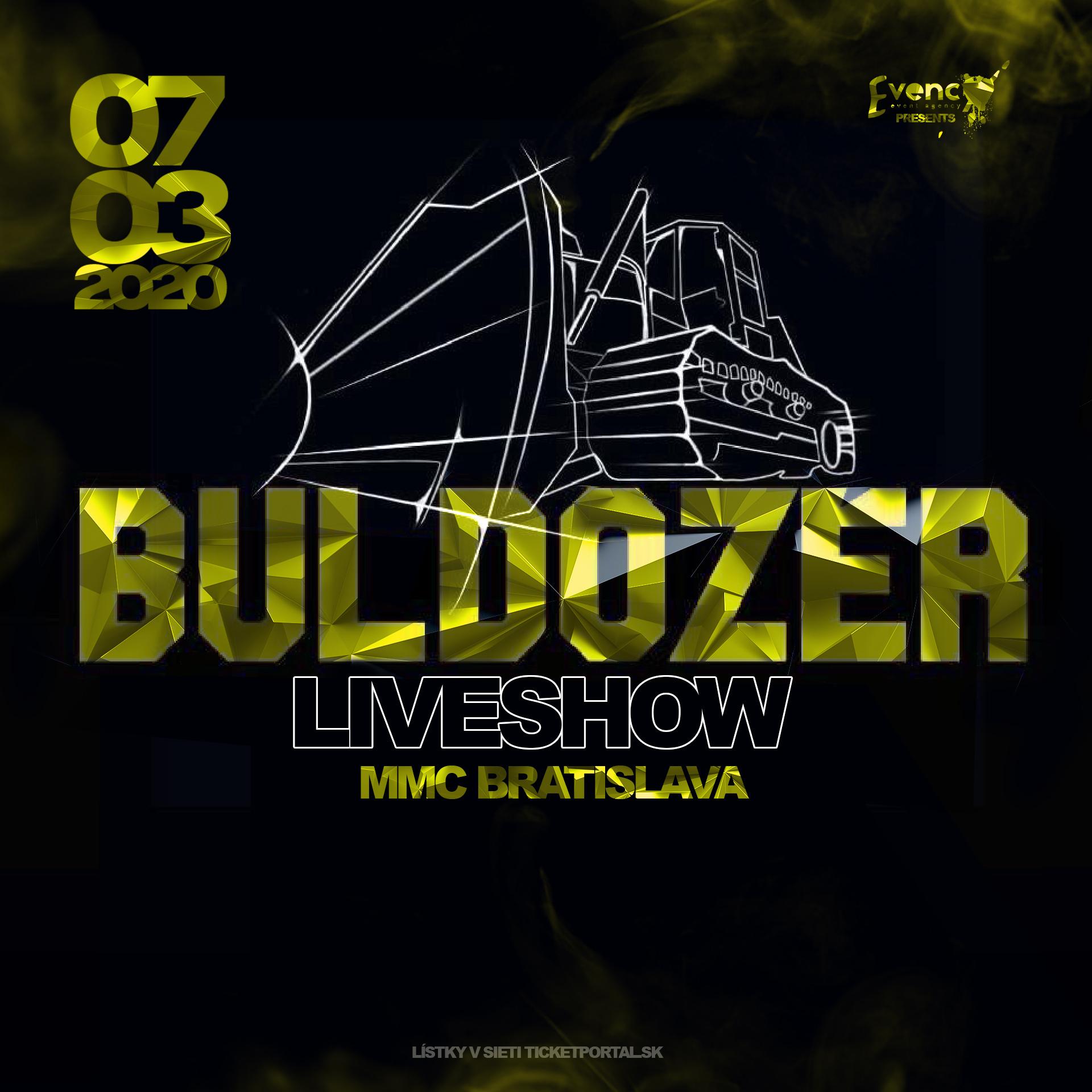 SEPAR BULDOZER SHOW v Bratislave | 07.03.2020 - sobota Majestic Music Club, Bratislava