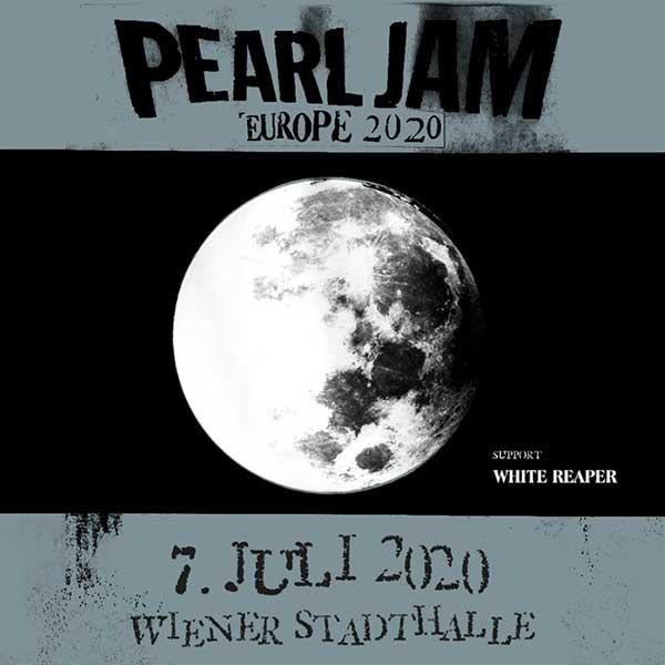 Pearl Jam | 07.07.2020 - utorok Wiener Stadthalle  - Halle D