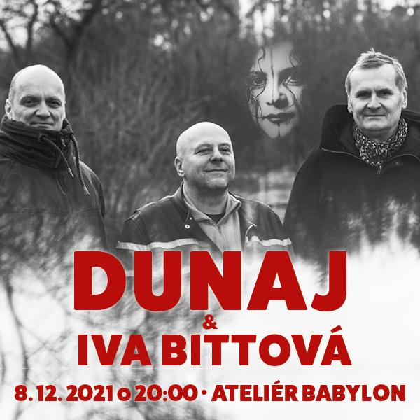 Dunaj  & Iva Bittová | 08.12.2021 - streda Ateliér Babylon, Bratislava