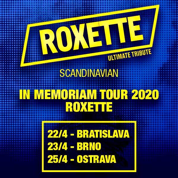 Roxette in Memoriam Tour 2020 Bratislava