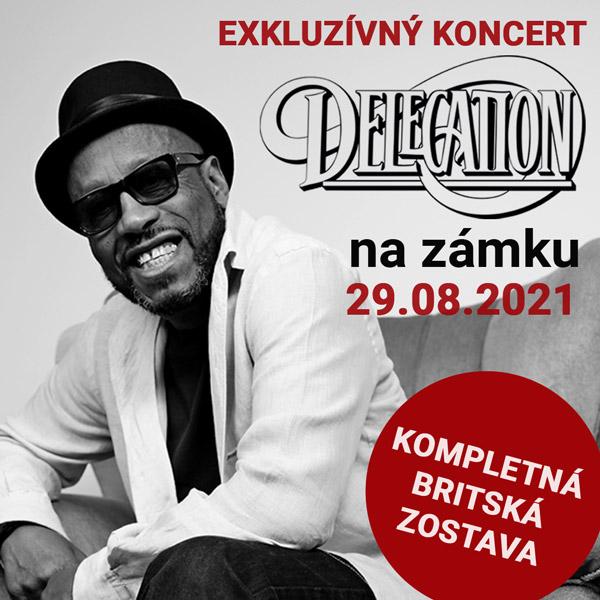 DELEGATION na zámku | 29.08.2021 - nedeľa Šimák Zámok Pezinok, Pezinok