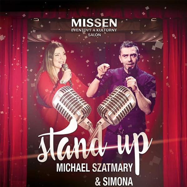 Stand-up comedy show Michael Szatmary & Simona