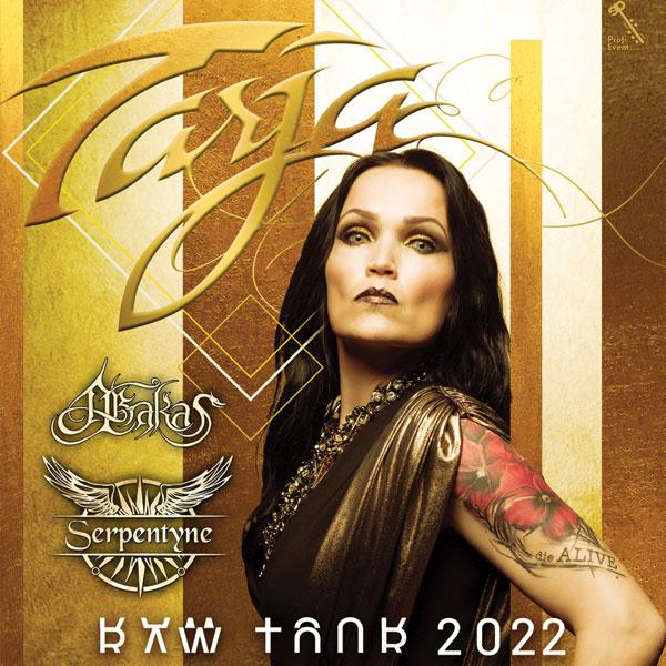 Tarja Turunen (ex-NIGHTWISH) Raw Tour Europe 2022 | 22.10.2022 - sobota MsKC Žiar nad Hronom