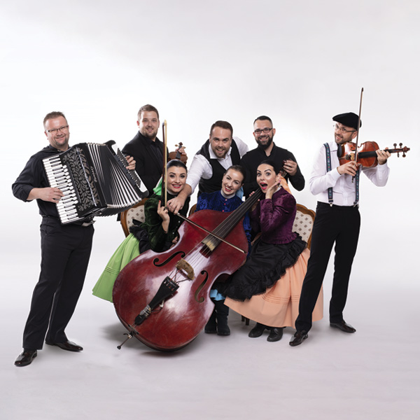 Ľudová hudba Stana Baláža - poňevirki 2020