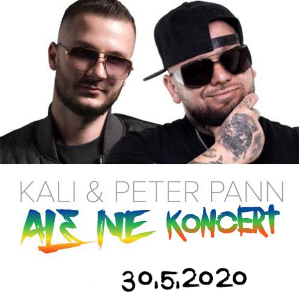 KALI a PETER PANN ALE NE koncert