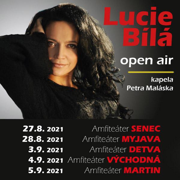 LUCIE BÍLÁ open air | 27.08.2021 - piatok Amfiteáter Senec