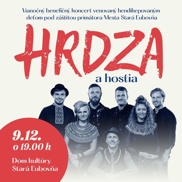 Vianočny benefičný koncert HRDZA