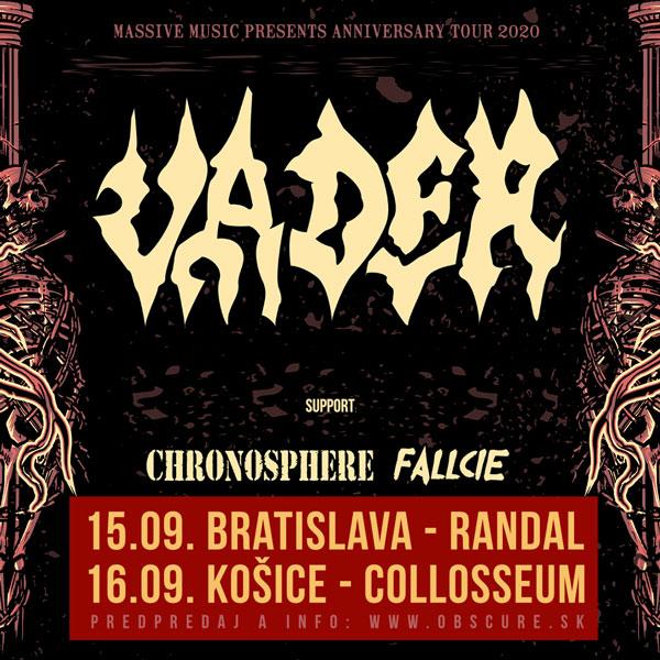 VADER (pl) + CHRONOSPHERE (gr) + FALLCIE