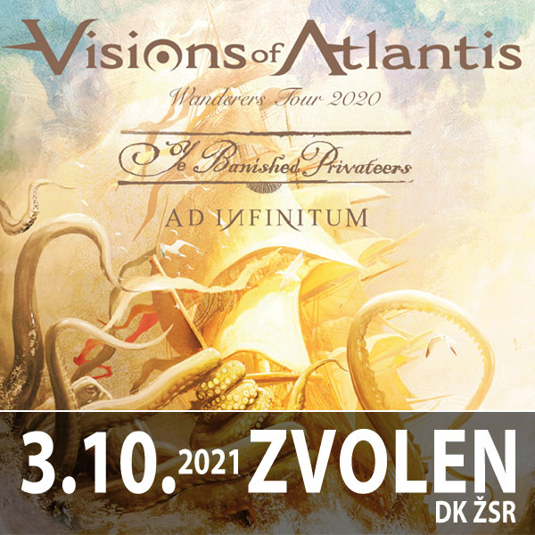 Visions Of Atlantis European VANDERERS Tour 2021