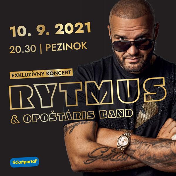 RYTMUS & OPOŠTÁRIS BAND | 10.09.2021 - piatok Amfiteáter Pezinok