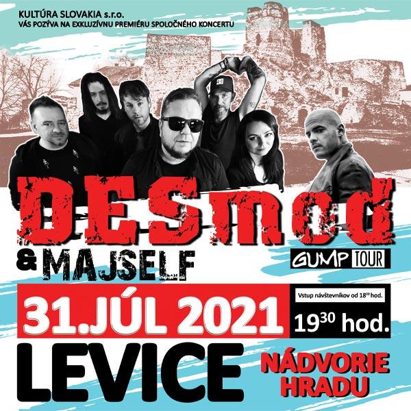DESMOD & MAJSELF   31.07.2021 - sobota Areál hradu Levice