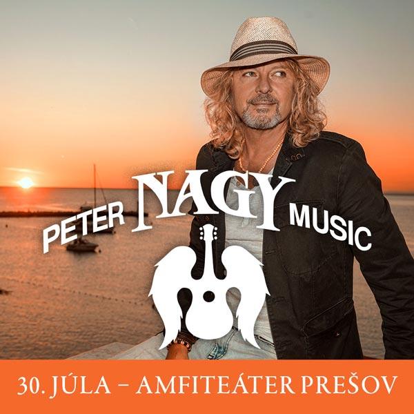 Peter Nagy 30.7.2021 | 30.07.2021 - piatok Amfiteáter Prešov