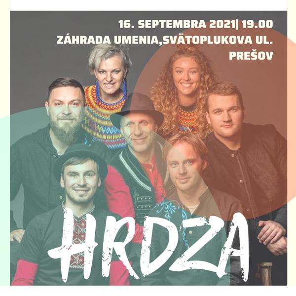 Hrdza   16.09.2021 - štvrtok Záhrada umenia, Prešov