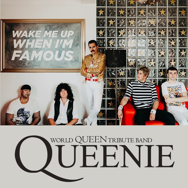QUEENIE - Queen tribute band   16.10.2021 - sobota Ateliér Babylon, Bratislava
