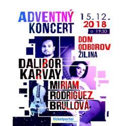 Adventný koncert D. Karvay a M. R. Büllová