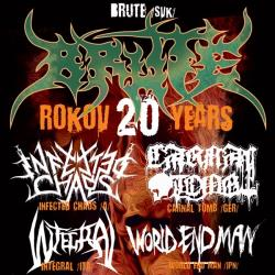 BRUTE 20th ANNIVERSARY - DEATH METAL FESTIVAL