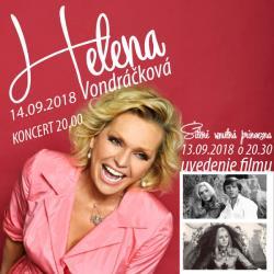 Koncert Heleny Vondráčkovej