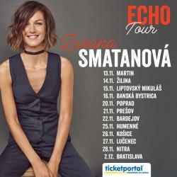 ZUZANA SMATANOVÁ turné Echo