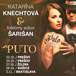 """Katarína Knechtová a Šarišan """"PUTO"""""""