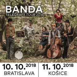 BANDA - koncert & krst nového CD